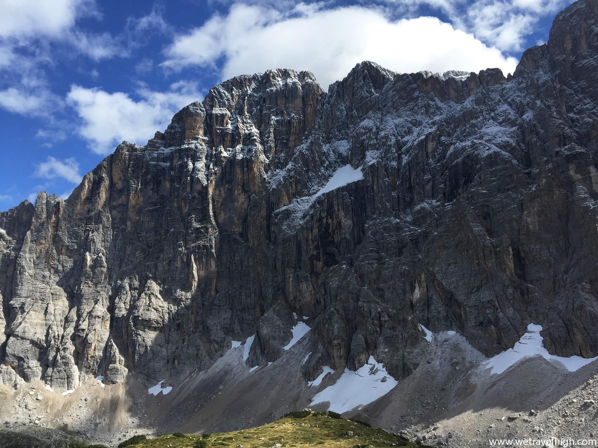 Parete Nord-Ovest del Monte Civetta