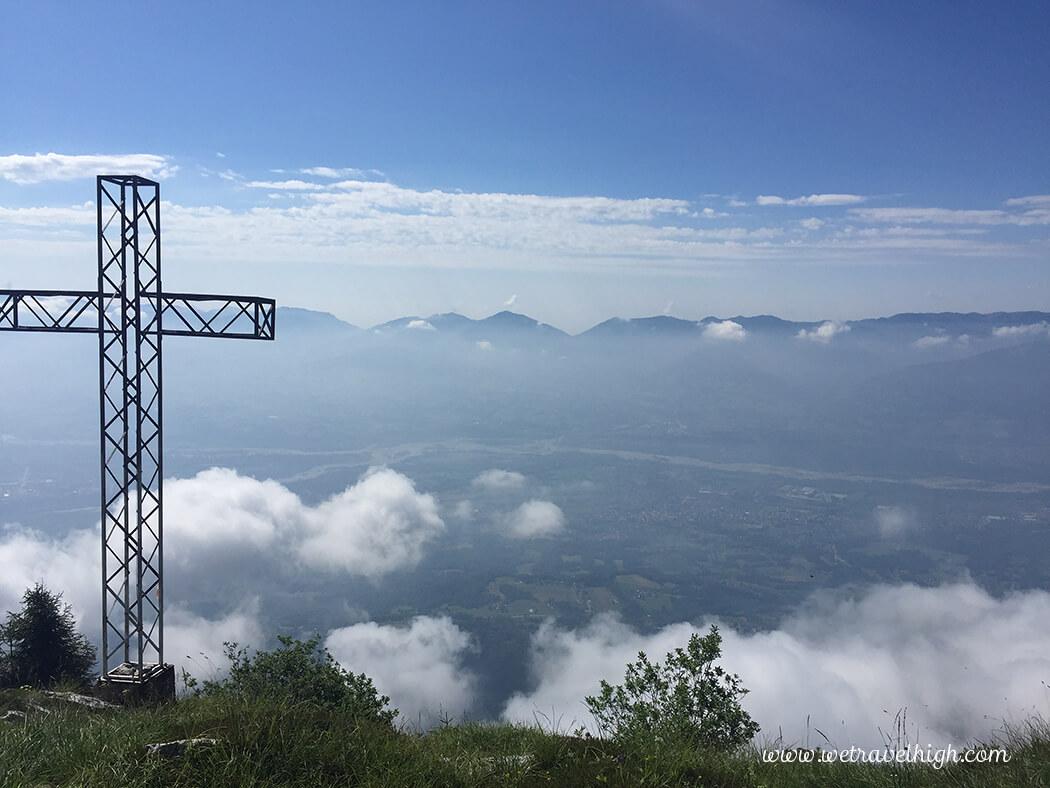 Vista dalla cima del Piz