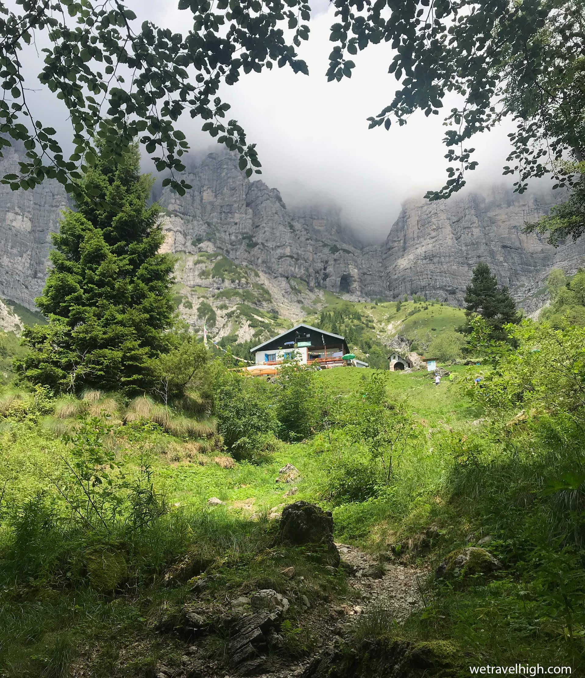 Il Rifugio VII Alpini